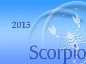 2015 Scorpio Horoscope